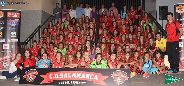 El Salamanca FF presenta a sus equipos para la nueva temporada