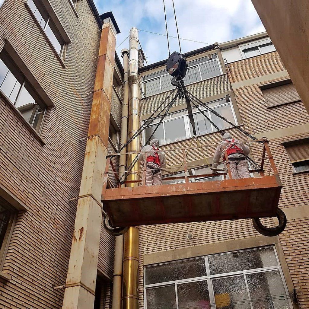 Amianto inspeccion tecnica edificios