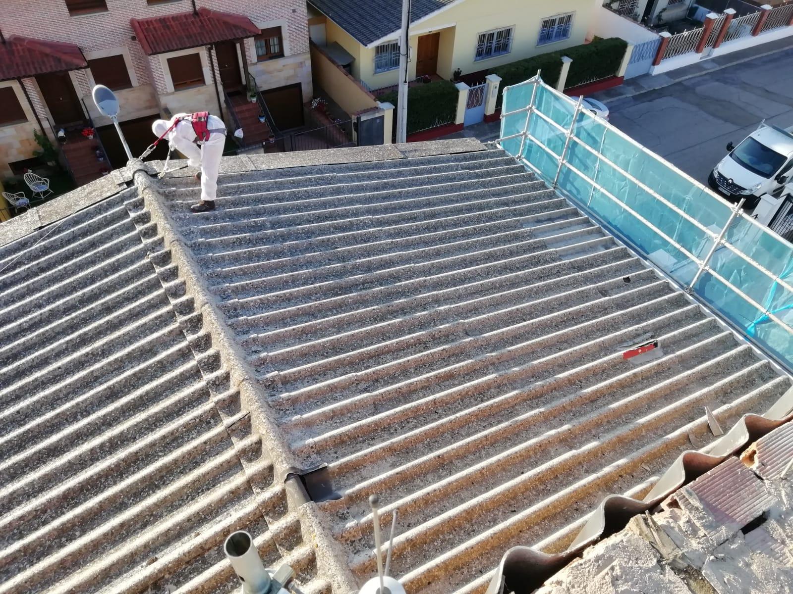retirada-de-amianto-tejado-Herrera-Pisuerga