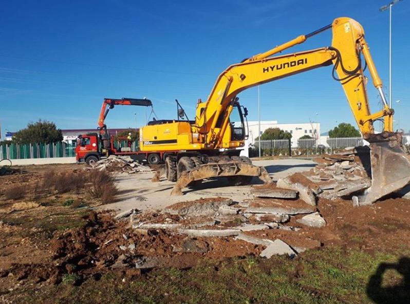 Trabajos de excavaciones y demoliciones en Salamanca