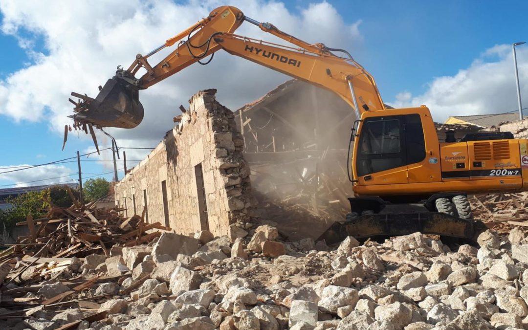 Demolición vivienda en Salamanca
