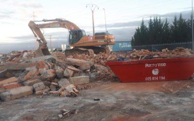 Reciclaje de escombros