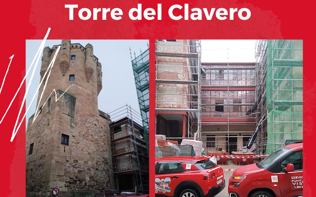 Obras en la Torre del Clavero