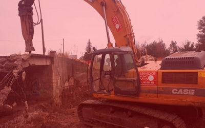 Documentación para una demolición o excavación