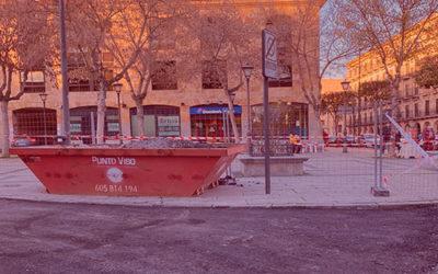 Obras en la calle Juan de la Fuente